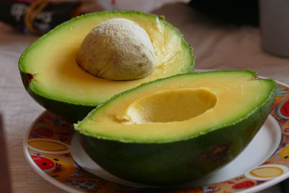 abacate, fonte de potássio