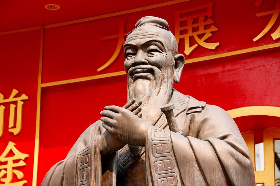 Confucio, importante pensador chinês