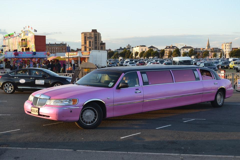 piada da kombi e da limousine