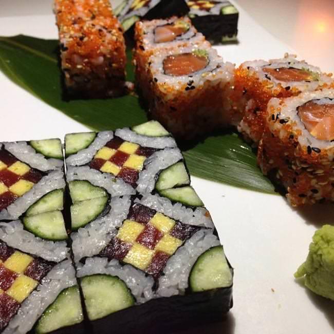 arte, sushi