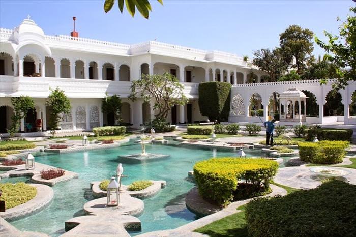palácio, hotel