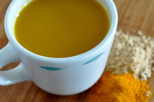 curcuma, açafrão, sopa
