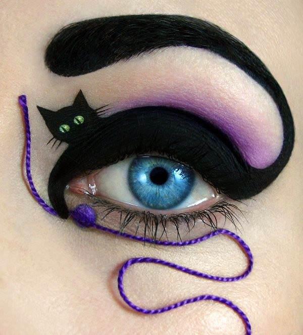 maquiagem, olhos