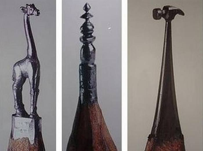 lápis, arte