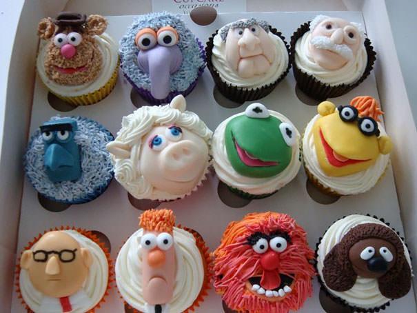 Surpreendentes cupcakes