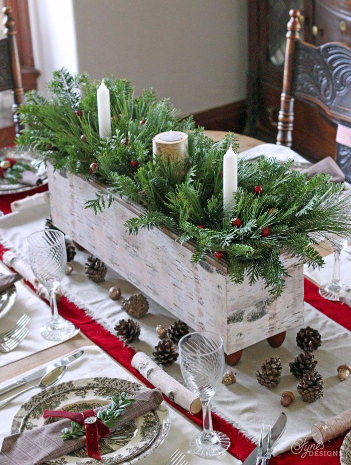 Enfeites de Mesa Para a Sua Ceia de Natal