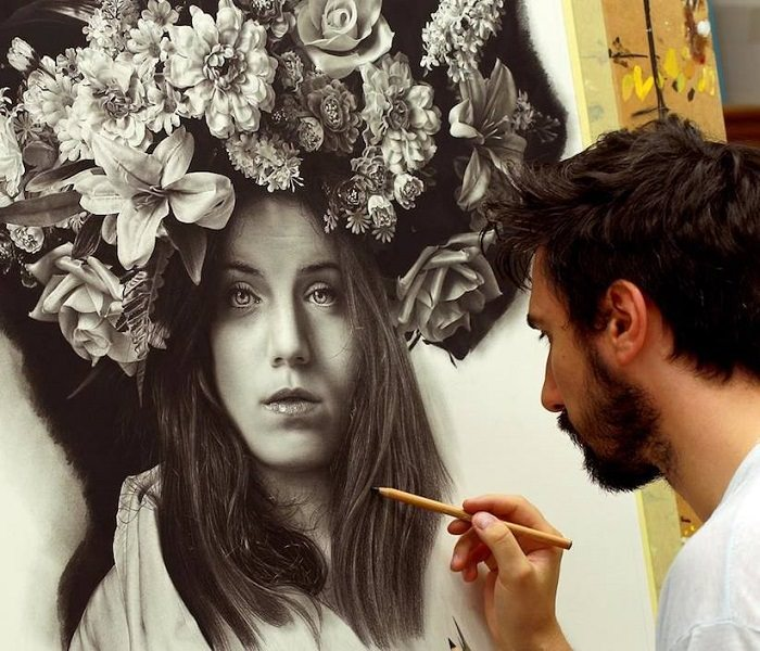 A Arte Hiperrealista de Emanuele Dascanio