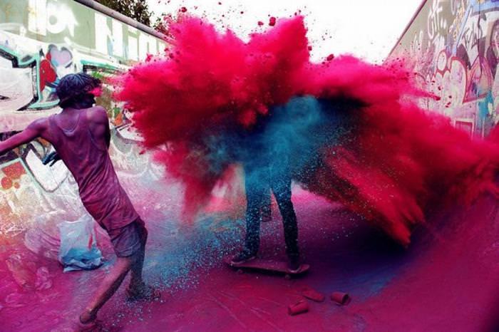 cores, tonalidades