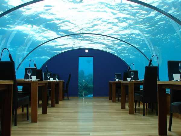 hotel, submerso