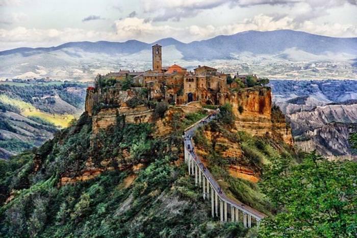 Civita di Bagnoreggio, Itália