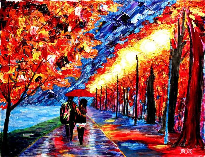 pinturas, cego