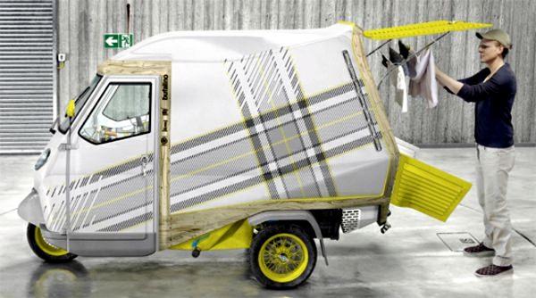 trailer, triciclo