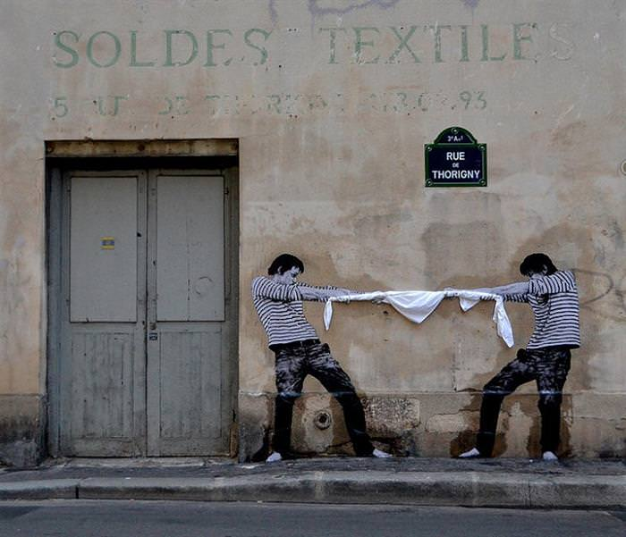arte de rua, Paris