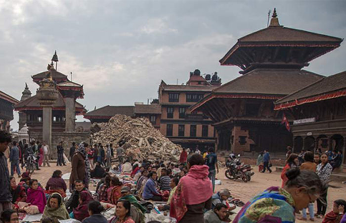 nepal before and after photos
