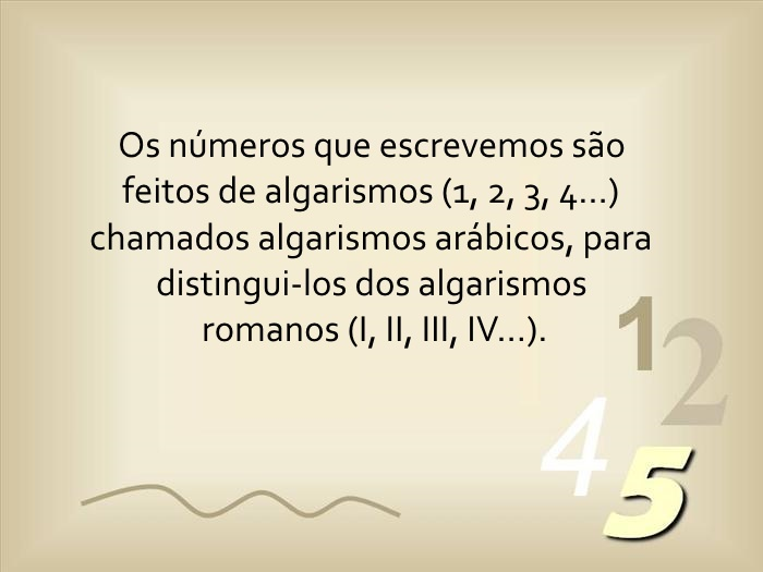 A Lógica dos Números