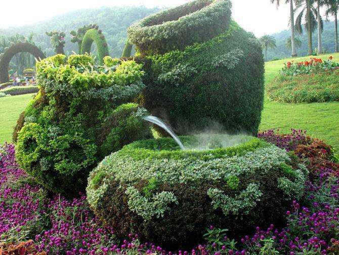 Os Maravilhosos Jardins de Topiários Chineses