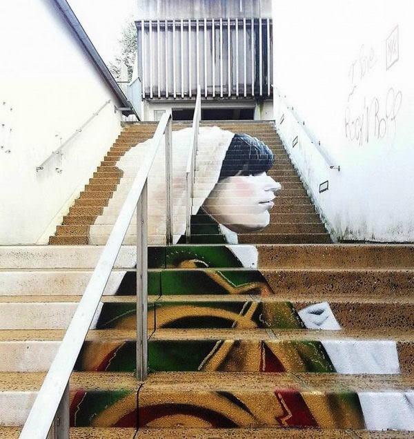 Quando Escadas São Obras de Arte