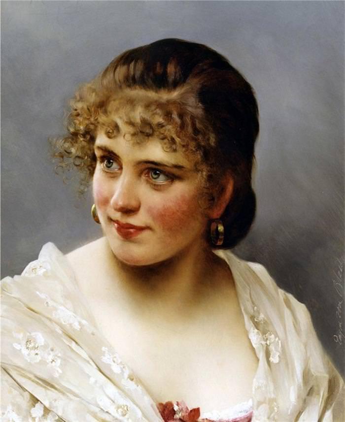 Os Elegantes Retratos de Eugene de Blaas