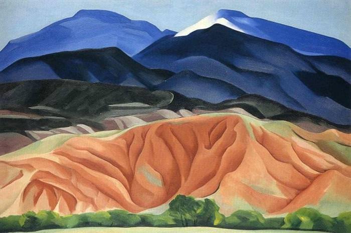 Pintura, Georgia O'Keefe