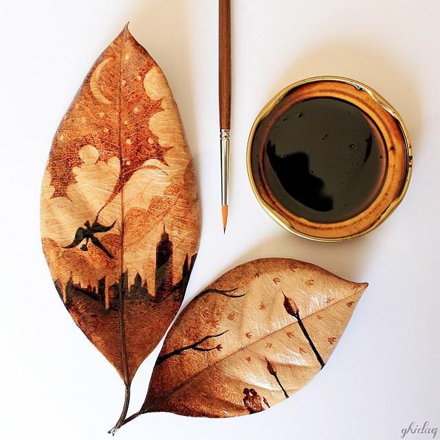 pintura, café