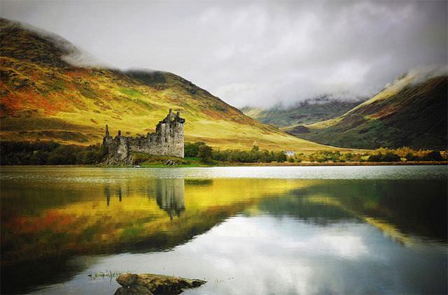 A Beleza Mágica Dos Castelos