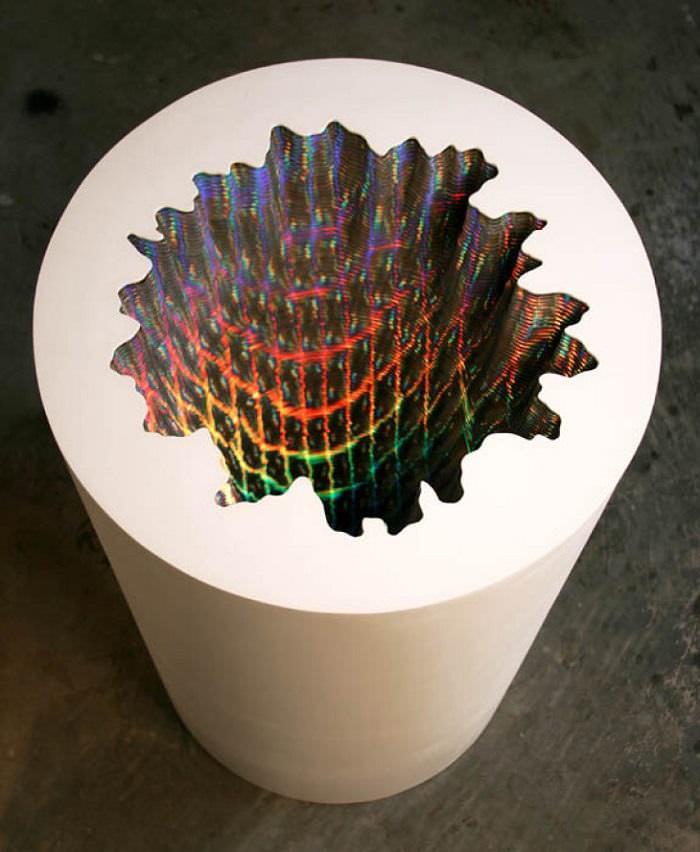 esculturas, papel