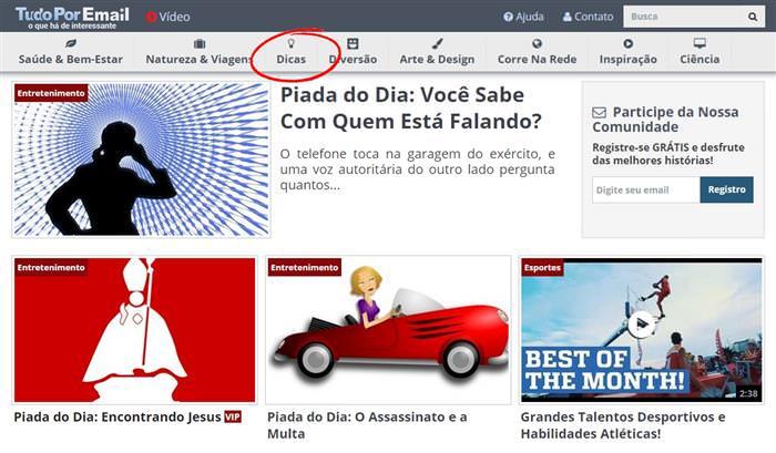 Guia TudoPorEmail