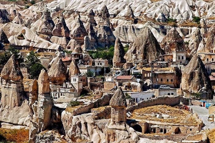 arquitetura rupestre