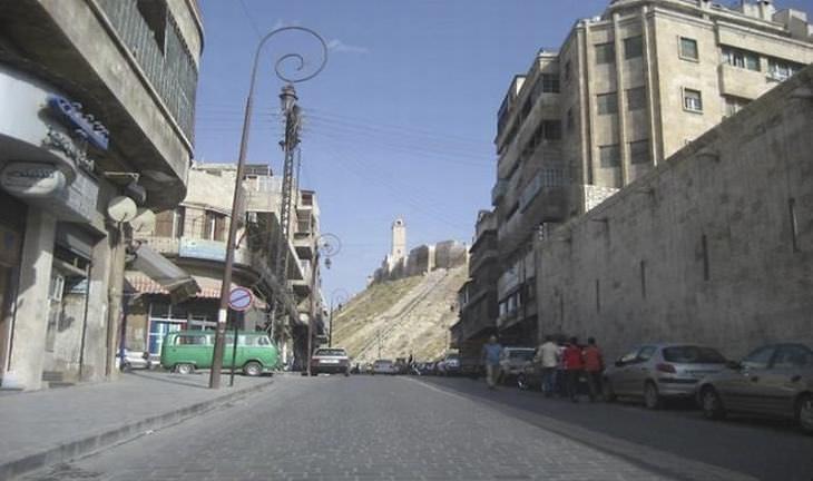 alepo na síria antes e depois da guerra