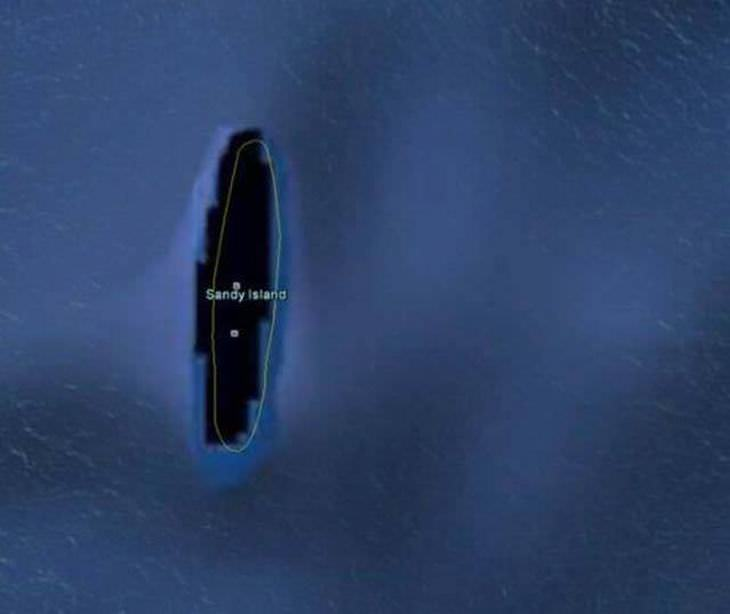 descobertas misteriosas do Google Earth
