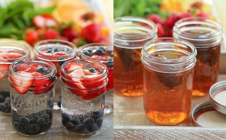receitas de chá para o verão