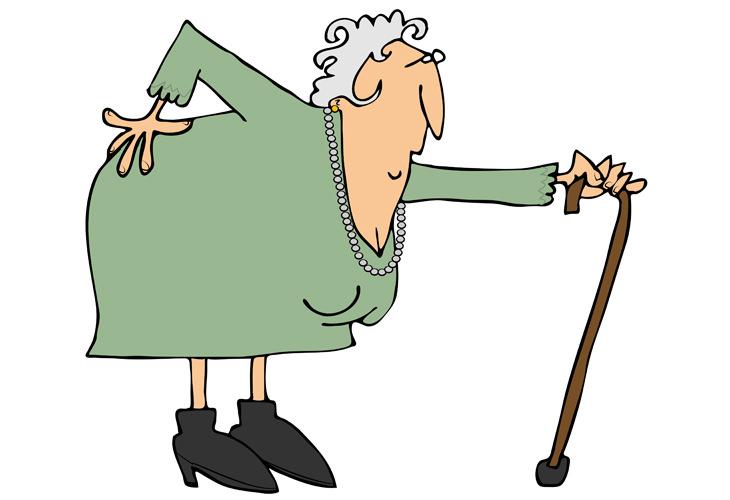 Piada hilária: Esta senhora idosa sabe o que quer!