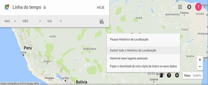 como evitar rastros do google