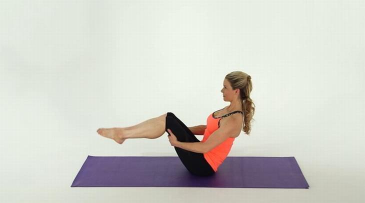 exercícios para secar a barriga