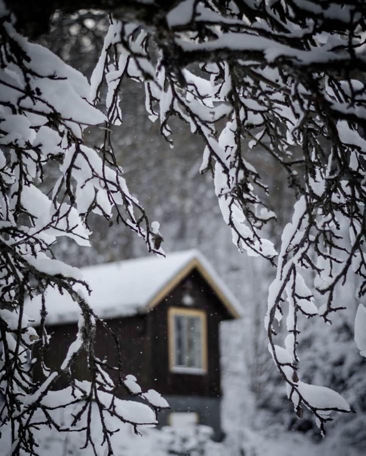 beleza inverno na suécia