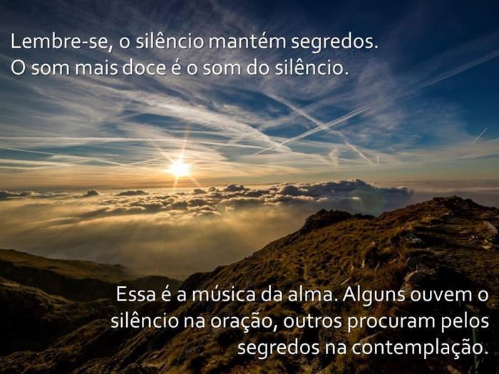 Silêncio da Alma