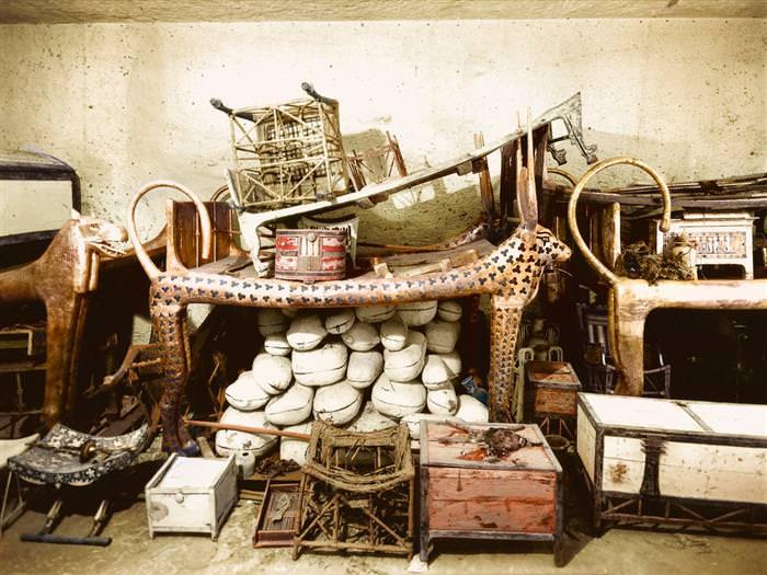 Impressionantes Fotos da Tumba de Tutancâmon