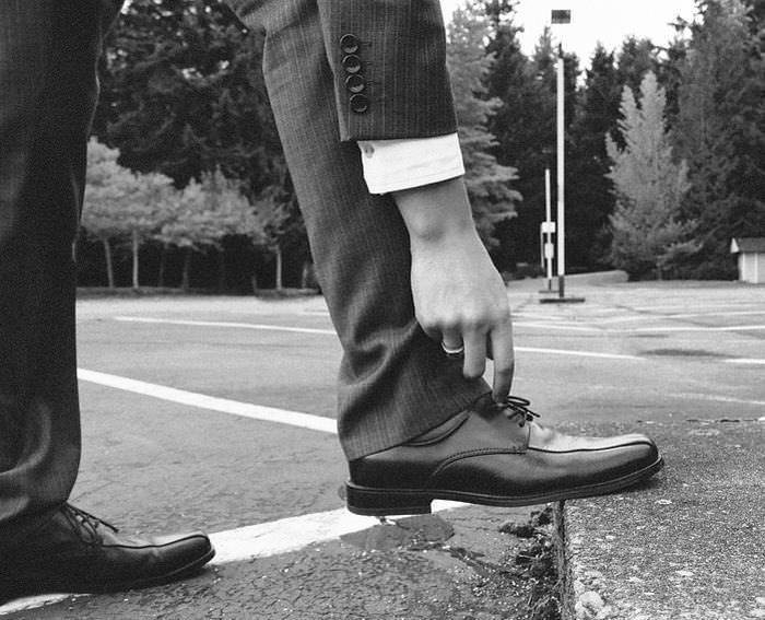 piada do sapato apertado