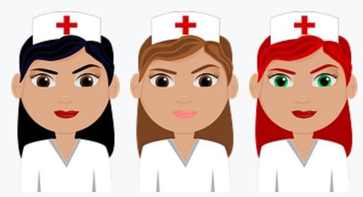piada das 3 enfermeiras no céu