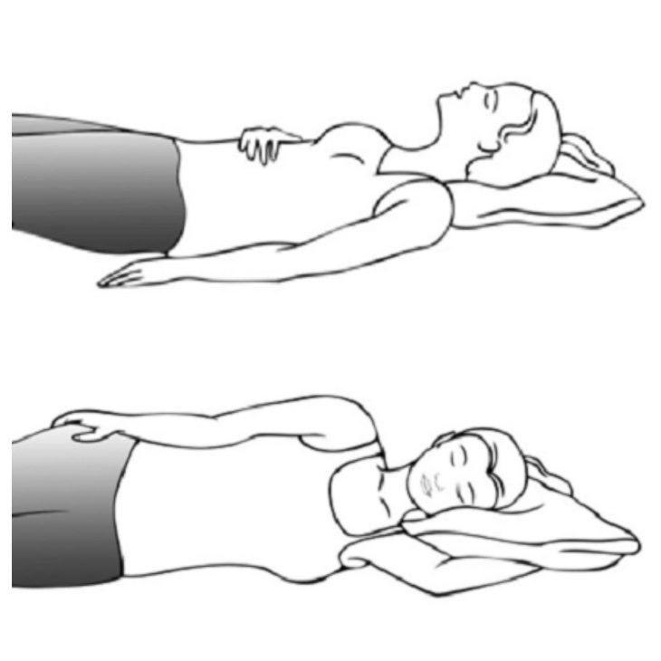 Posições para dormir para quem sofre de dores nas costas, pescoço e quadril