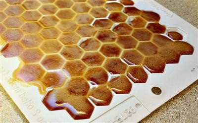 Aliviar sua garganta mel caseiro