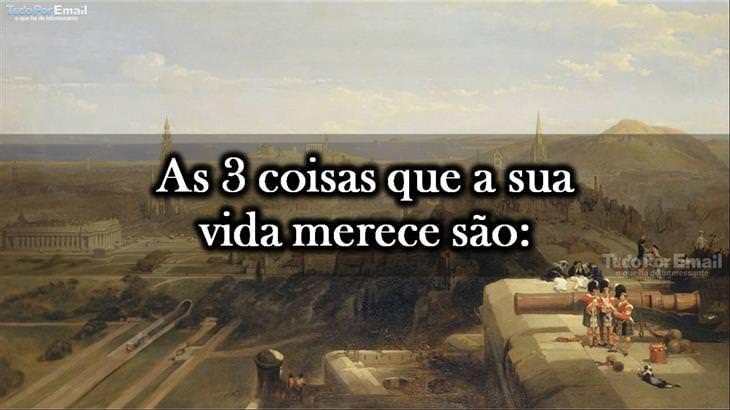 """Descubra a """"Regra de Três"""" da Vida"""