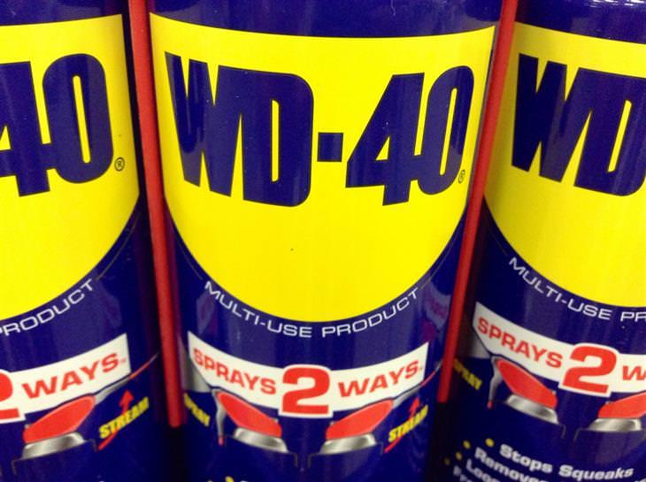 Os benefícios do WD-40
