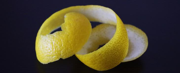 como usar a casca do limão