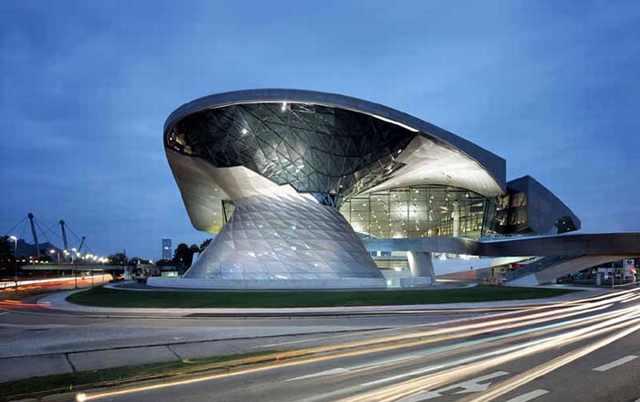 Lugares com arquitetura deslumbrante