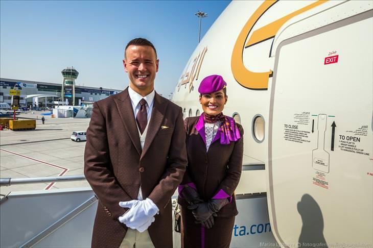 Bem vindo ao luxo da empresa aérea Etihad