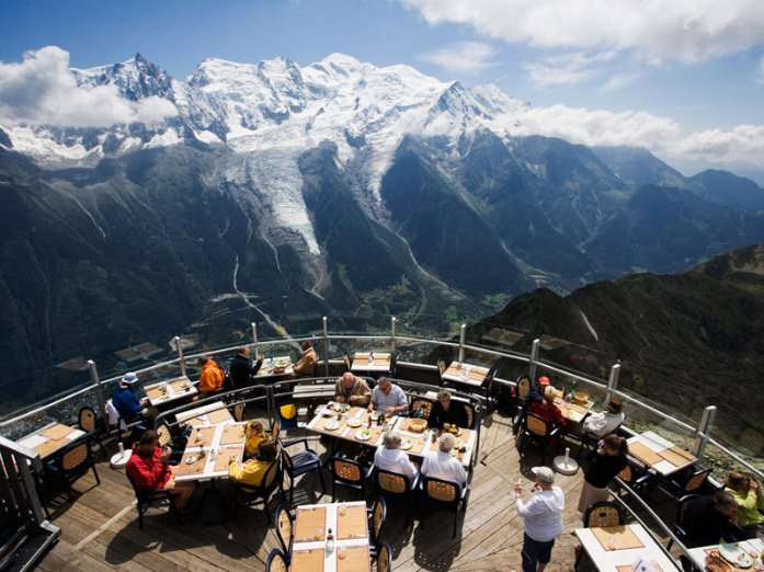 Os restaurantes com as vistas mais espetaculares no mundo!