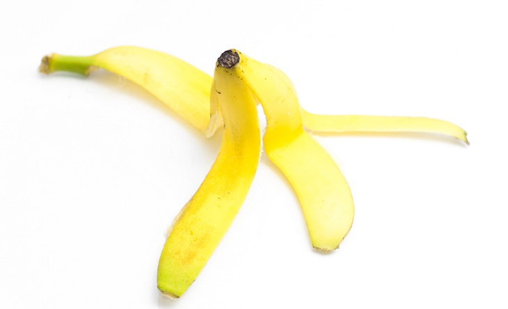 Diversos usos da casca de banana