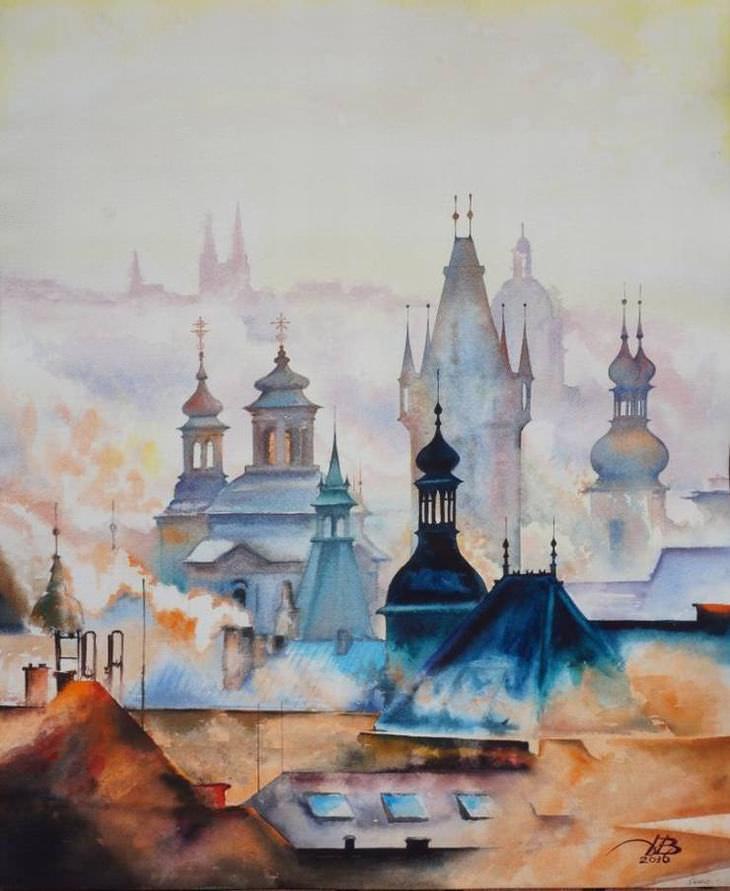 Pinturas impressionantes por Igor Dubovoy