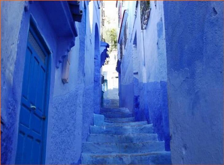conhecá chefchaouen, a cidade azul do marrocos